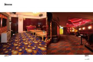 Luxury Nylon Printed Carpet and Rug  for Hotel
