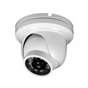 Small Size Metal Dome Camera for CCTV Surveillance with 23pcs IR Leds and 20M IR Range CMOS, CCD Optional