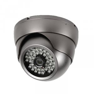 CCTV Camera 3.5 Metal Dome Camera with 48pcs Leds 6mm Lens, Sony, Sharp CCD Optional