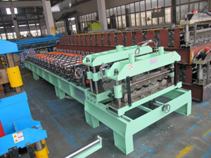 aluminium roofing tile roll forming machine