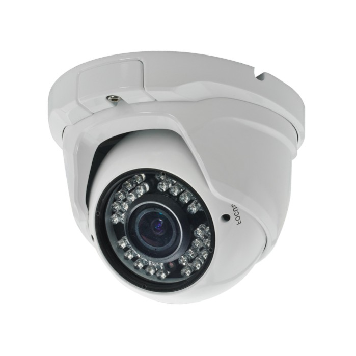 CCTV Camera Metal Dome Camera with 36pcs IR Leds CMOS, CCD Optional