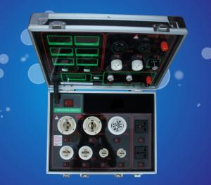 LED Demo case LED AC DC lamppower meter