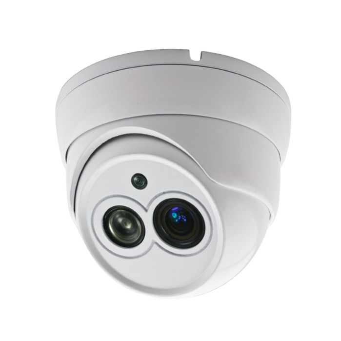 CCTV Camera Metal Dome Camera with 1pcs Array IR with 30m IR Range