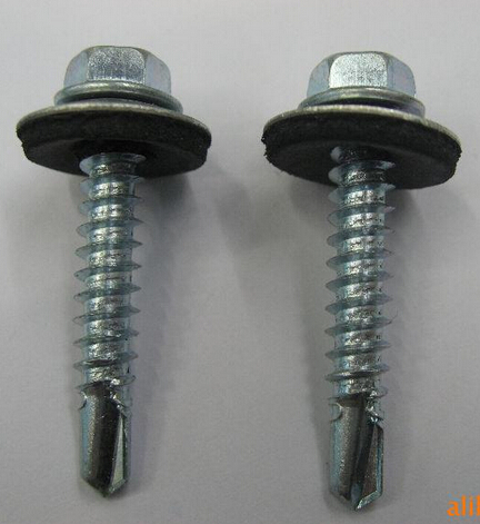 DIN7504 Hex Washer Lange Head Self Drilling Screw