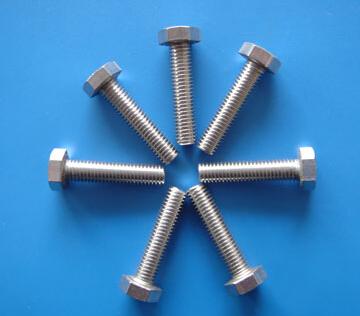 DIN933 Hexagon Head bolts M4-M22