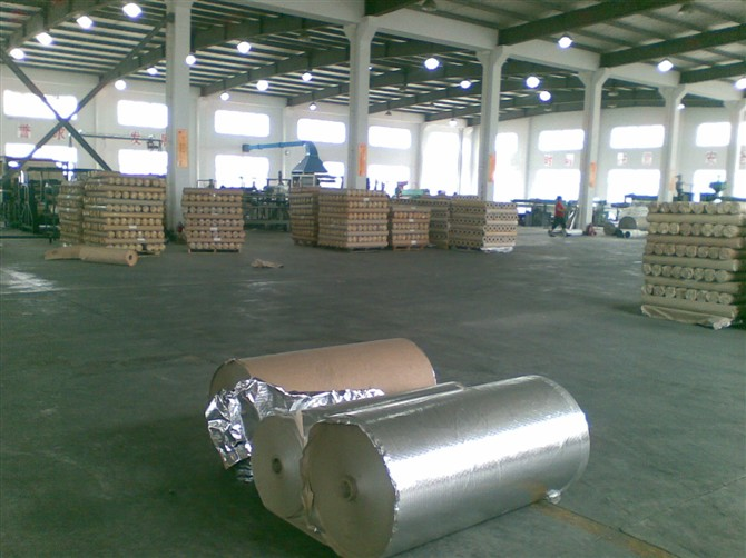 Aluminum Foil Wth LDPE for Bubble Foil Insulation