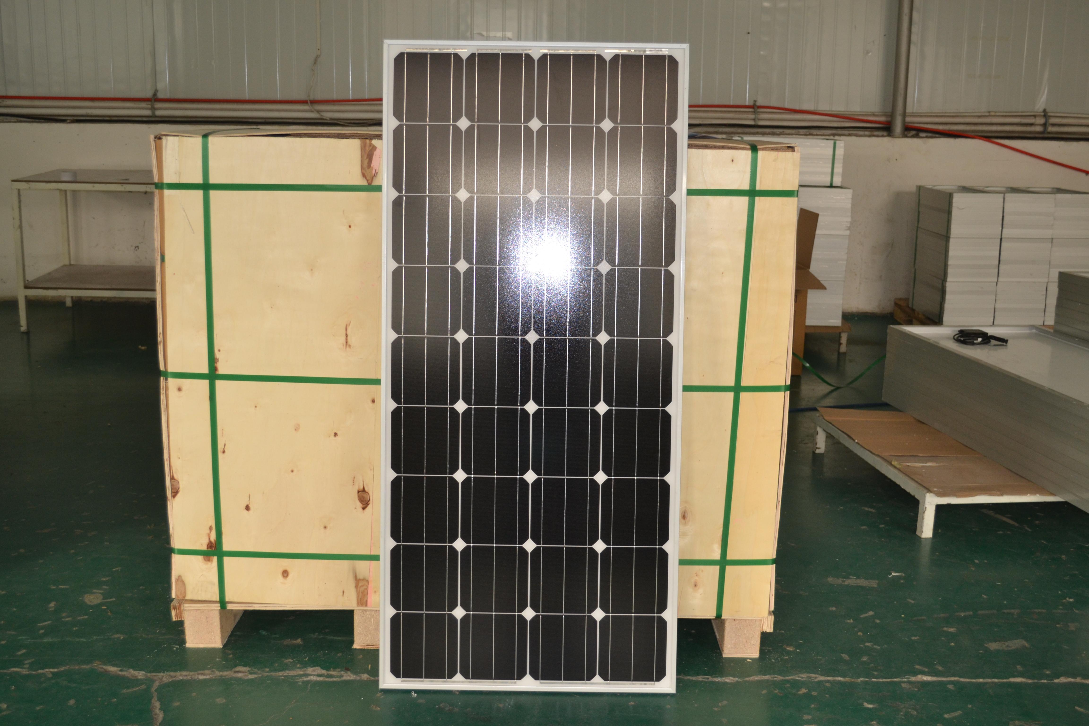 mono 150W solar panel