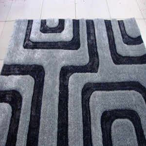Hand Woven Polyester Shaggy Carpet