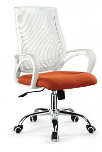 ZHSMC-03P Swivel Office Chair with Unpainted plating Legs