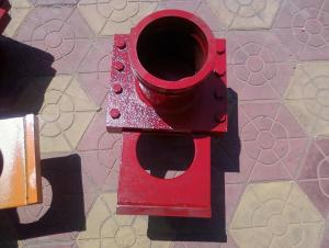 Concrete Pump Parts of MIXER END SHAFT FOR S VALVE