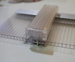 U-LOCK Polycarbonate sheet 4-Layer Rectangle Structure daylighting system