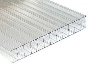 PC Trip-wall X Structure Polycarbonate Sheet 10-16mm