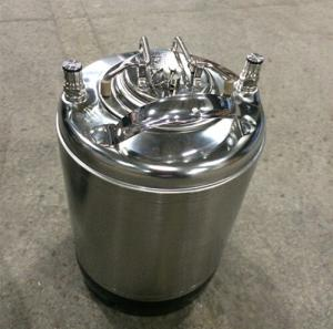 Ball lock keg 3gallon