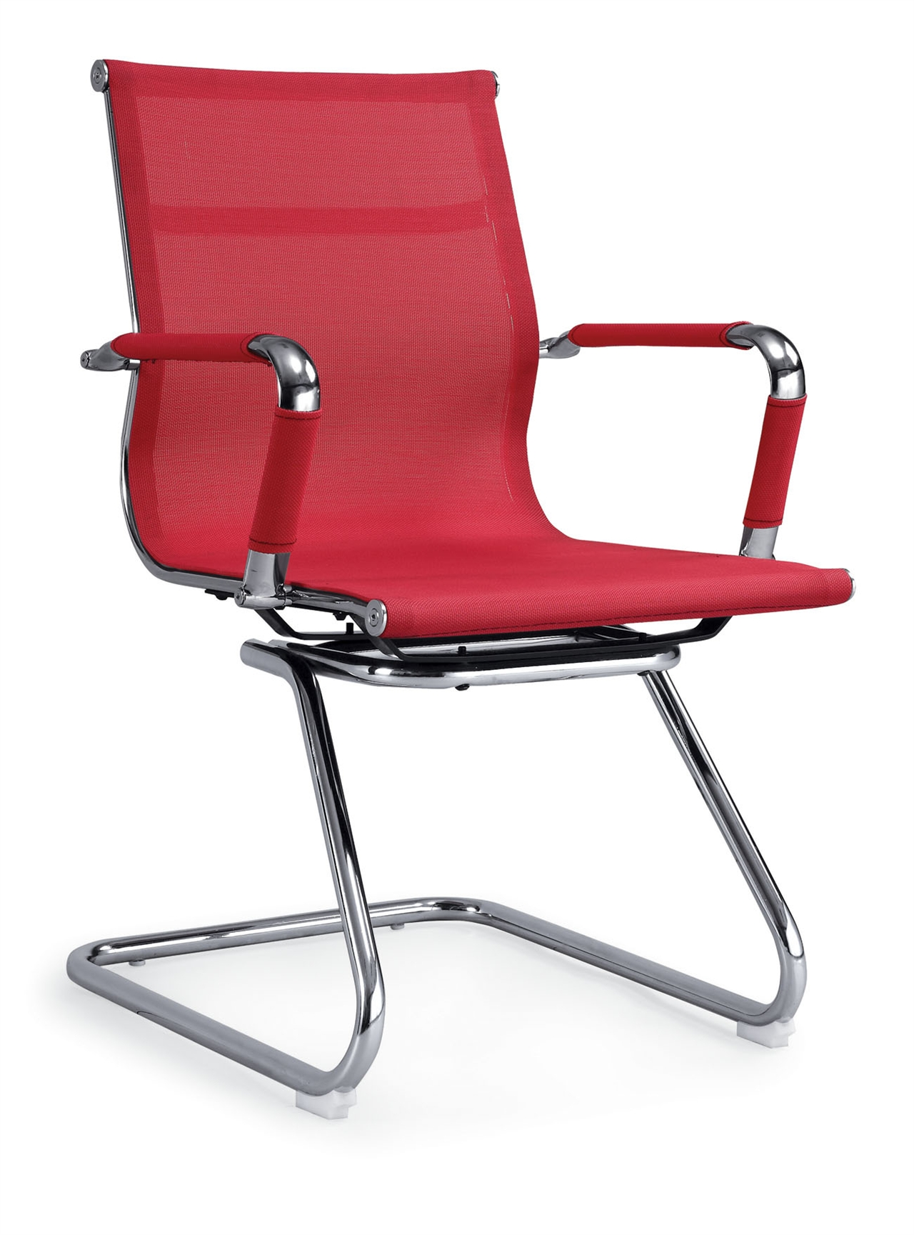 ZHCMOC-02 Cantilever Office Chair With Mesh Surface and Cushion