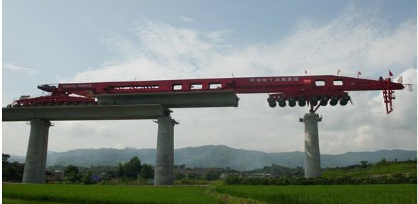 Integrated Beam Carrier-Launcher Gantry Crane