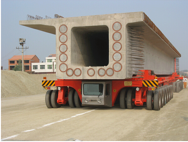 DCY500 Rubber-tyred Beam Carrier