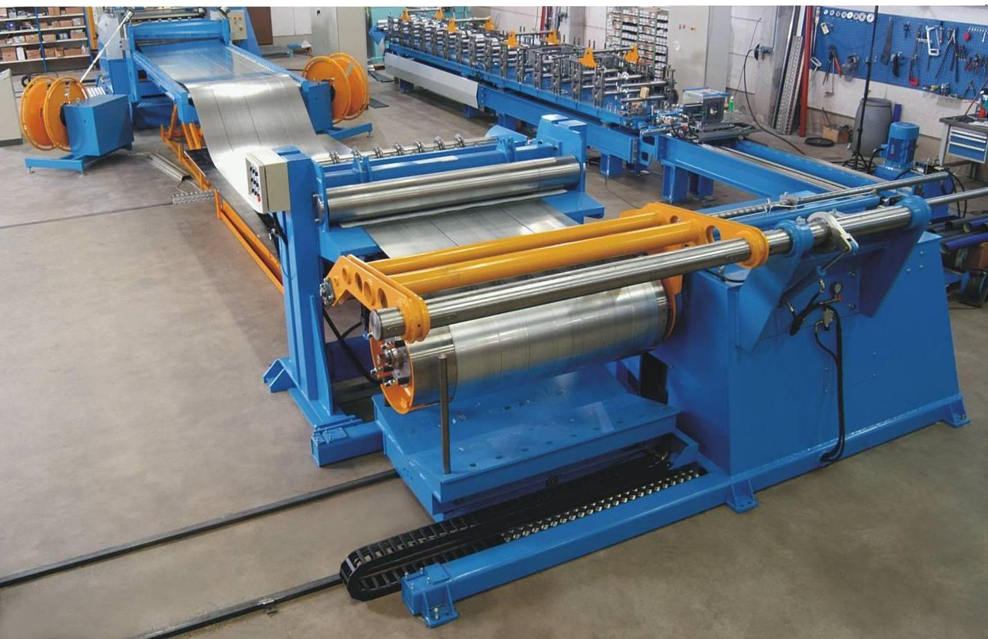 High Speed Slitting and Cut to Length Line-3