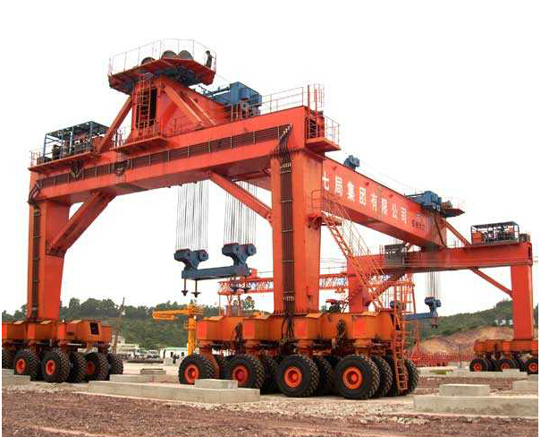 Rubber-tyred Gantry Crane