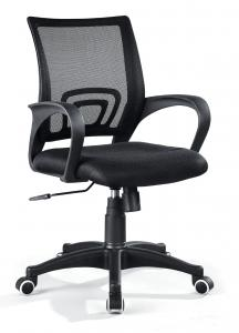 ZHSMC-06 Swivel Office Chair With Curved Mesh Backrest and Colored Painted Legs