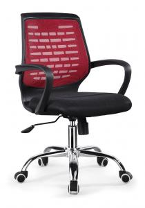 ZHSMC-07P Swivel Office Chair With Colored Painted Legs and Mesh Backrest