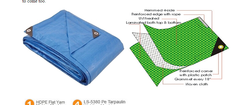 heavy  duty  pe  tarps   in  wear-resistant  waterproof  sunproof