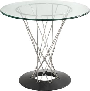 JSWMC-18 Plating Steel Wired Round Table With Chassis