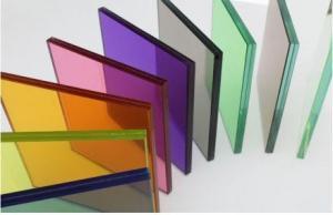 A variety of colors Glaze Reinforced Glass