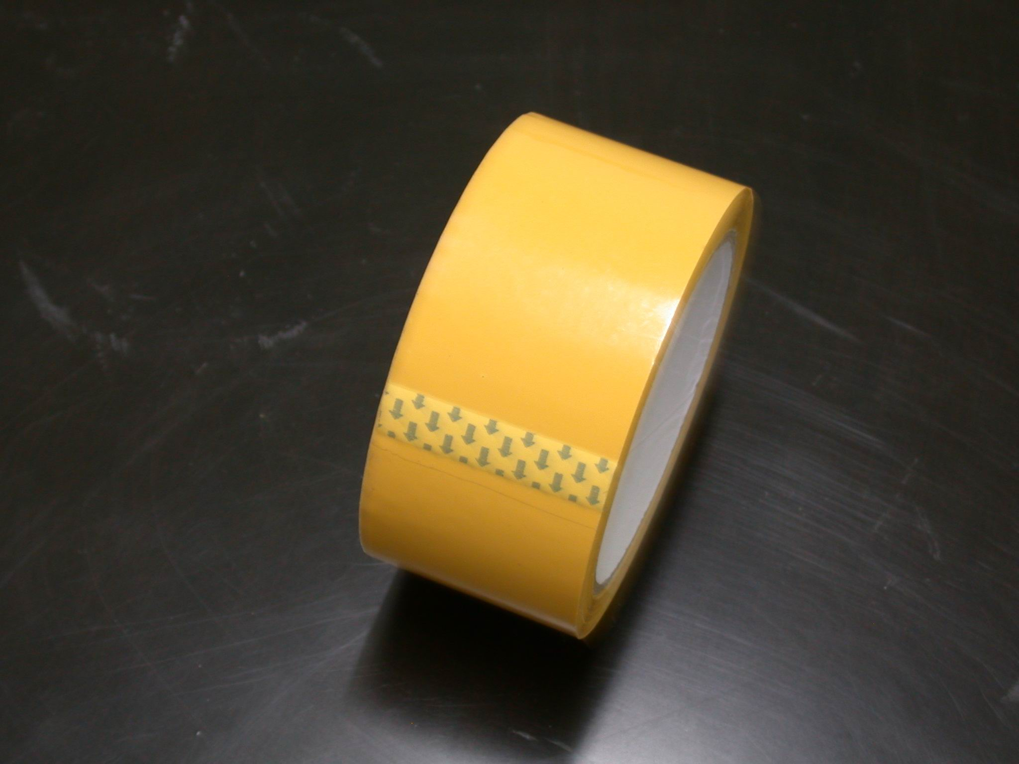 Yellow BOPP Tape For Packing