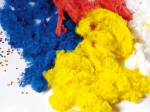 Colored Original Polyester Staple Fiber