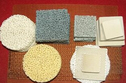 Zirconia Foam Ceramic Foam Filter