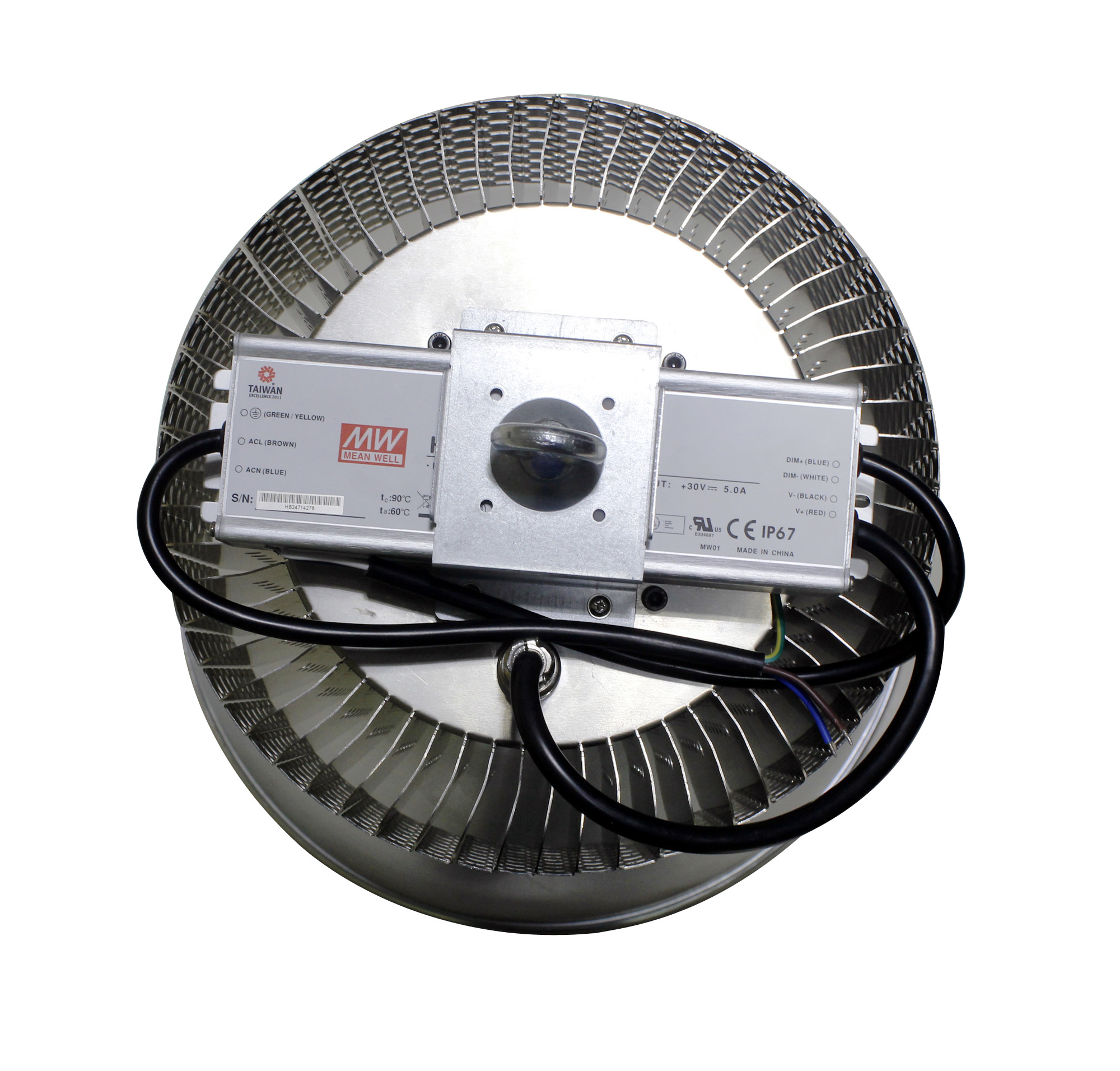 200w led workshop led high bay light Meanwell driver Bridgelux chip led industrial light