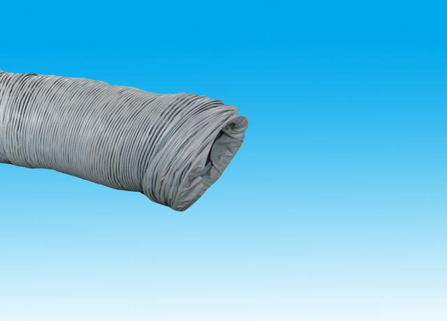 Cloth based PVC air duct