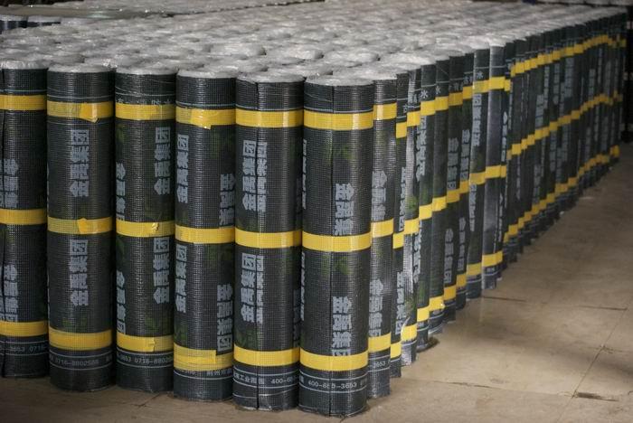 SBS modified bitumious waterproof material rolls