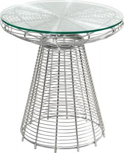 JSWMC-13 Plating Steel Wired Small Round Table
