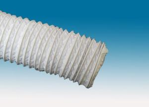 White PVC composite air duct