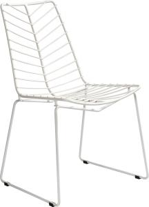 JSWMC-09  Leaf Shape Wired Metal Leisure Chair