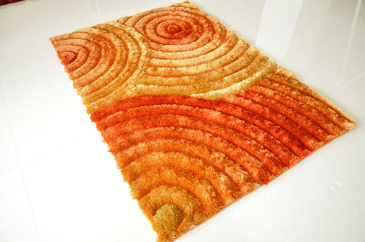 Polyester Shaggy Carpet and Rug with Cheap Price for Living Room