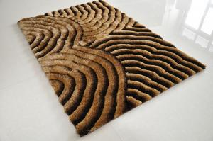 Hand Made Shaggy Carpets with Soft Feeling and Good Quality