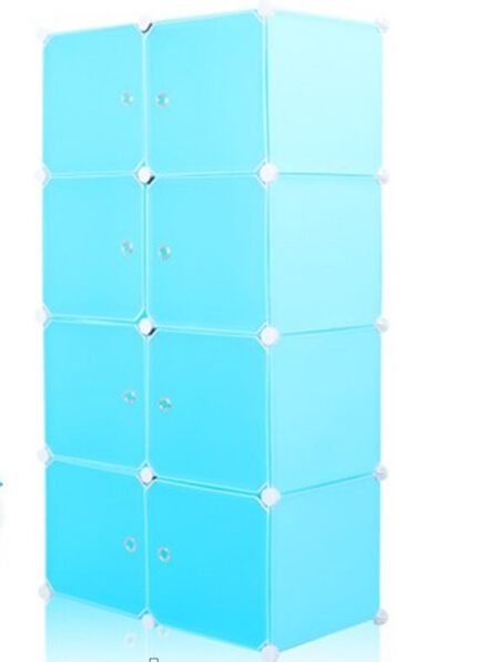 assemble DIY PP Storage Cabinets