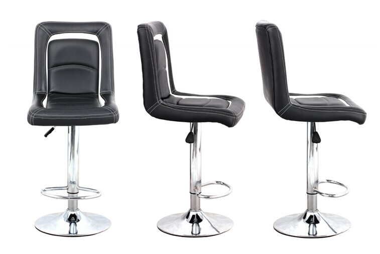 Modern Adjustable Pu Bar Stools