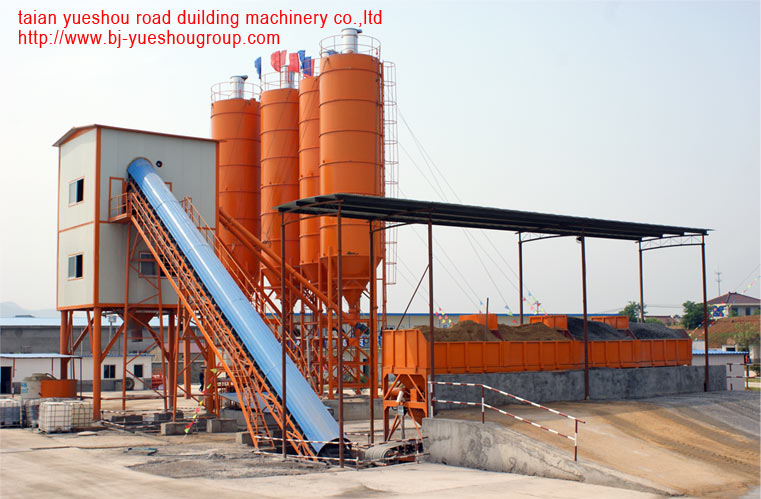 High quality concrete mixing plant production capacity 35m3 per hour