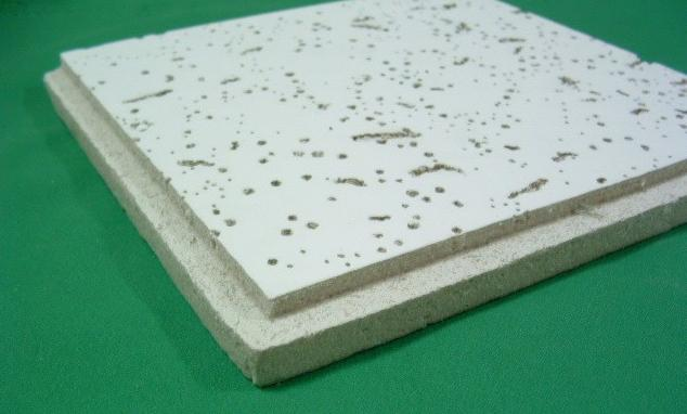 Mineral ceiling board Fissured Heat Insulation  board