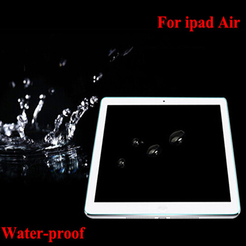Waterproof Tempered Screen Film for Ipad Air Toughened Screen Guard