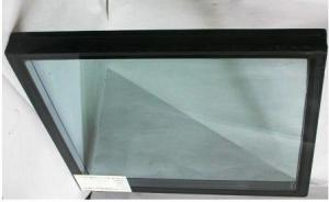 Coated laminated glass 8+1.14pvb+8+15A+8 building glass