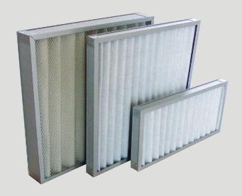V-shape Plastic Frame Filter