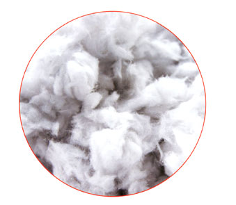 Granular cotton