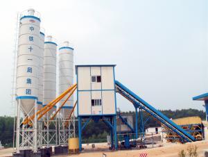 High quality concrete mixing plant production capacity 50m3 per hour