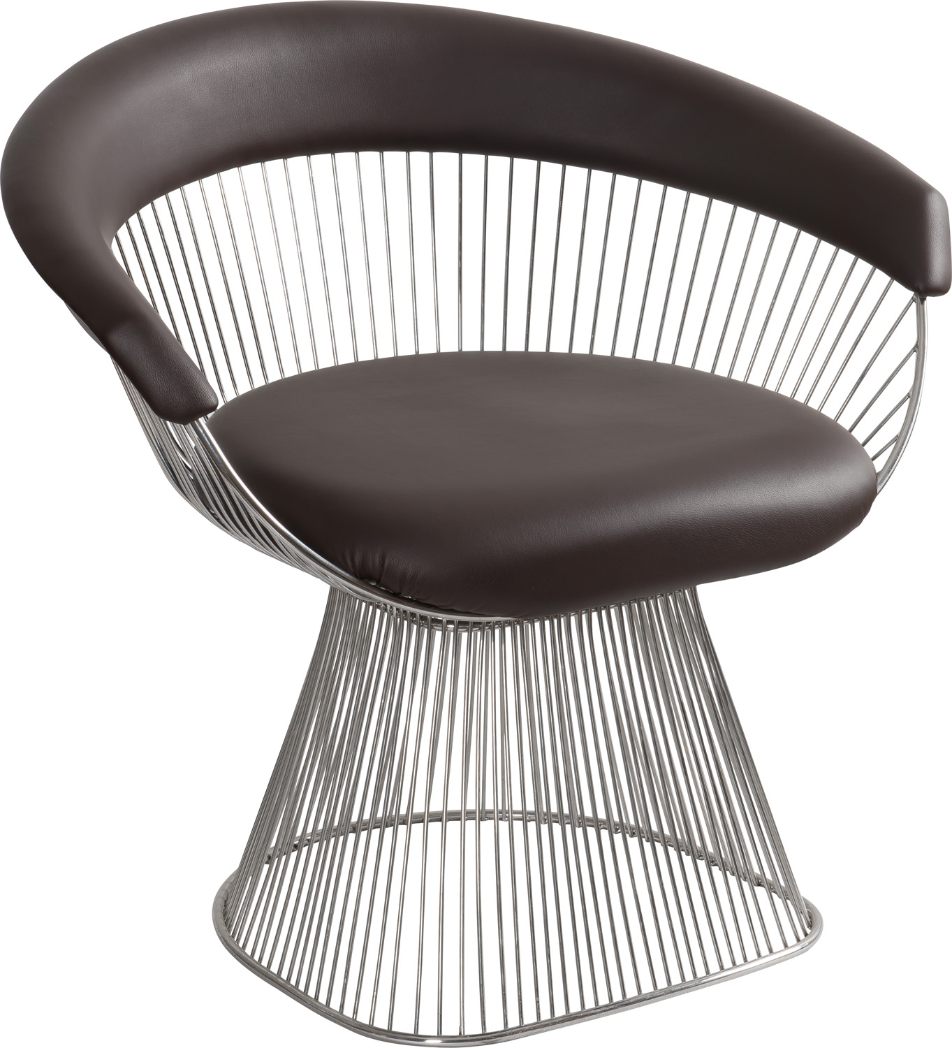 JSWMC-10 Stainless Steel Wired Leisure Chair With Cushion