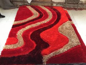 Good Quality Chinese Knot Mixed  Silk Carpet