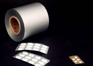 pharmaceutical  alu  foil